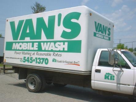 Vans Mobile Wash